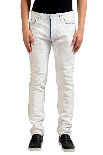 Maison Margiela 10 Men's Painted Slim Jeans US 32 IT - La Margiela