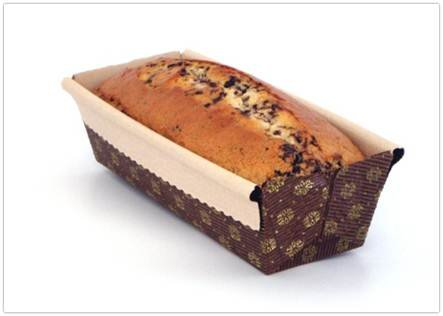 Rectangular Paper Loaf Baking Mold 6'' x 2.5''x 2'' (Pack of 1200) by Pastry Chef's Boutique