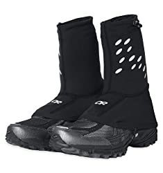 Outdoor Research Ultra Trail Gaiters, Black, M