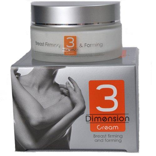 3D Professional fermeté du sein Shaping & Crème lifting, cliniquement approuvé, peut être utilisé après l'allaitement maternel et l'alimentation, 100 ml / 3,3 oz