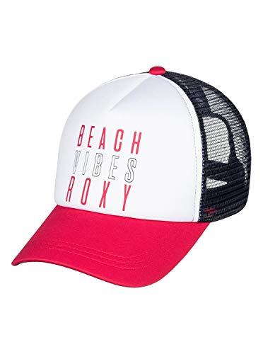 Roxy Truckin Trucker Hat , Barberry , One size (Roxy Hats For Women)