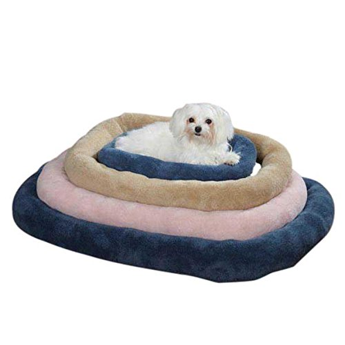 Slumber Pet Oval Bed (Slumber Pet Comfy Crate Pet Bed, Medium, Pink)