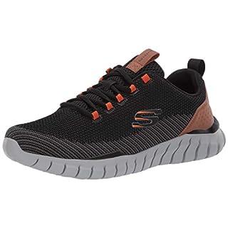 Skechers Overhaul Landhedge Sneakers, Black, 15 W