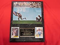 Cubs Rick Monday 2 Card Collector Plaque w/ 1976 SAVES THE FLAG Photo
