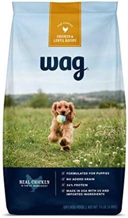 Wag Dry Dog Food, 35% Protein