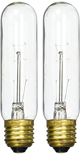 ((2 Pack) Zoo Med Laboratories AZMHLC25 25-Watt Highlights Incandescent Bulb, Clear )