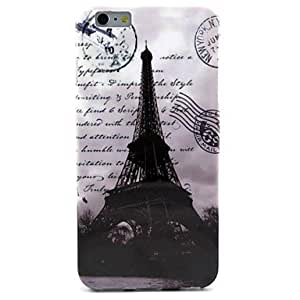 YULIN Retro Tower Pattern TPU Soft Case for iPhone 6
