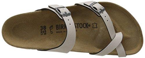 Birkenstock Mayari, Mules para Mujer Beige (Pull Up Stone)