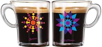 Ml Senseo Tasse En Design Du Avec Espresso Verre Opale100 0nmN8w