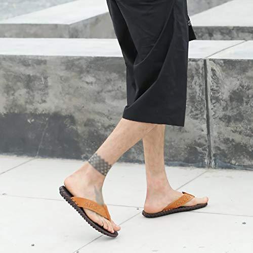 Hombres Moda Sandalias Tamaño Playa Slip Verano 42 De Chanclas De Sandalias HUYP para De Chanclas Zapatos xg01RIwqY