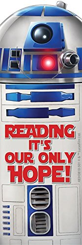 3 Dozen (36) STAR WARS Bookmarks R2D2 Reading - It's our Only Hope! - Classroom TEACHER Reading Rewards - PARTY Favors MOTIVATION