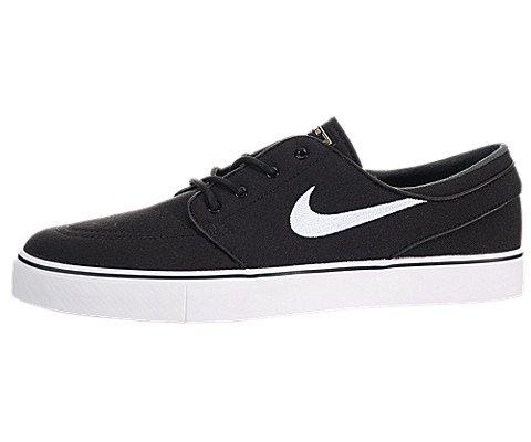 Nike Men's Zoom Stefan Janoski CNVS Blk/White/Gm Lght Skate Shoe 9.5 Men US (Nike Diamond Cross)