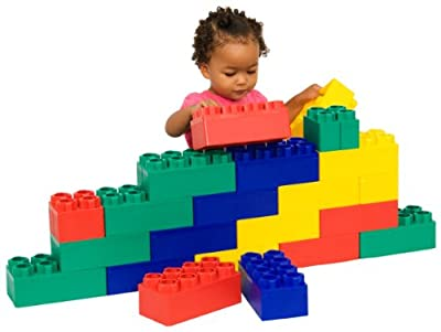 Kids Adventure 24pc Beginner Jumbo Block Set from Kids Adventure