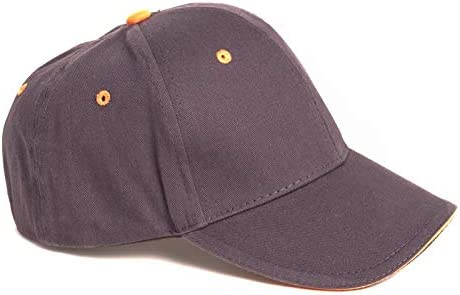 Fenside Country Clothing Childs One Size Adjustable Plain Baseball Cap 100/% Cotton with Contrast Peak//Eyelets