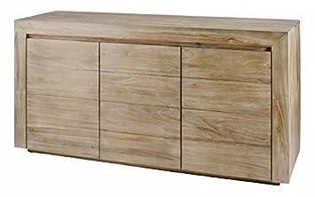 "Sideboard with 44 bleached teak doors ""Universe Zago Grey"" Home ... | furniture universe uk"