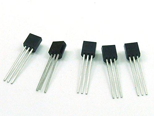 Just-Honest POPESQ/® 5 Piezas 5 x TMP36 Sensor de Temperatura TMP 36 Temperature Sensor ARDUINO #A769