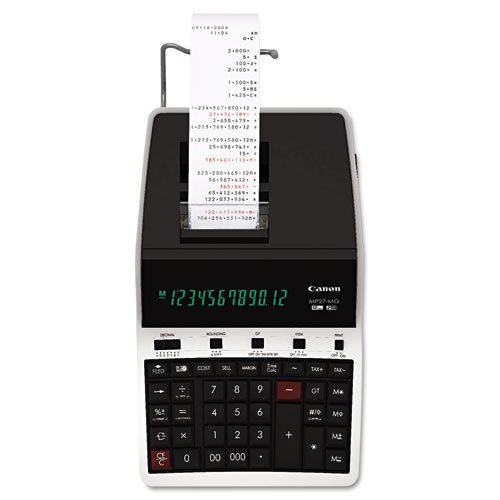 CNM4642B001 - MP27-MG Green Concept Two-Color Printing Calculator