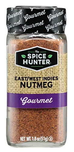 The Spice Hunter Nutmeg, East/West Indies, Ground, 1.8-Ounce Jar