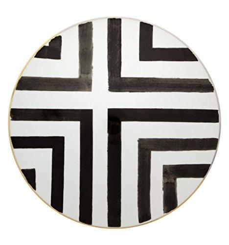 VISTA ALEGRE - Sol y Sombra by Christian Lacroix (Ref # 21117716) Porcelain Charger - Portugal Sol