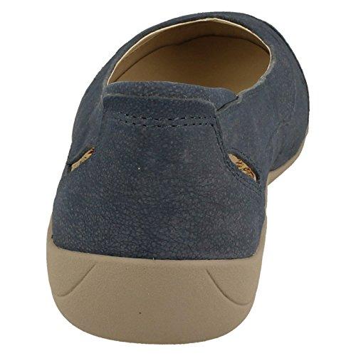 Padders - Sandalias con cuña mujer Azul - azul
