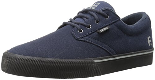 Etnies Men's Jameson Vulc Skate Shoe, Dark Grey/Black, 10 Medium US