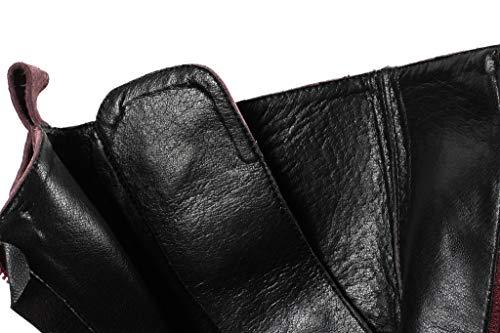 Lacet Forme Bottines Rond de Bottes Martin Latéral Combat Spécial Bout en avec Arc SimpleC Plate Fourrure Noir Zip Boots Femme vfAS4S