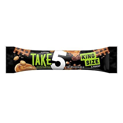 TAKE5 Chocolate Candy Bar, Halloween Candy, King Size