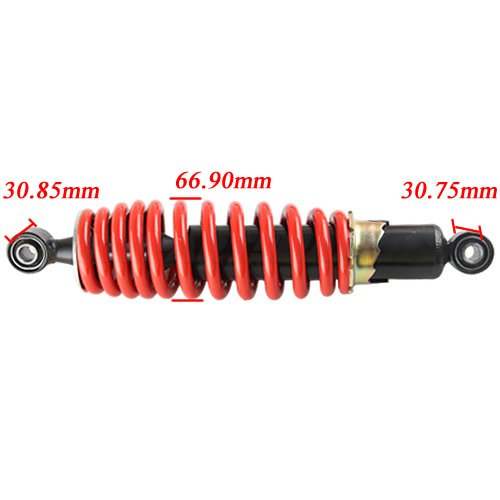 Rear Shock Absorber for 110 CC 125cc 150 cc ATVs Quad 4 Wheelers Taotao SunL Coolster