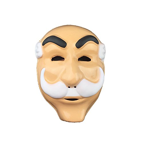 Mr Robot Mask Cosplay Costume Props for Halloween