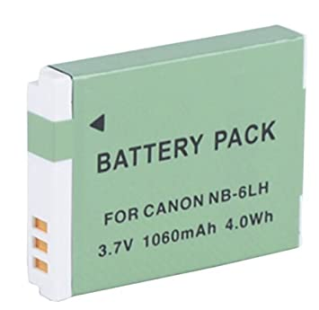 Amazoncom Battery Pack for Canon PowerShot SX530 SX600 SX610 HS