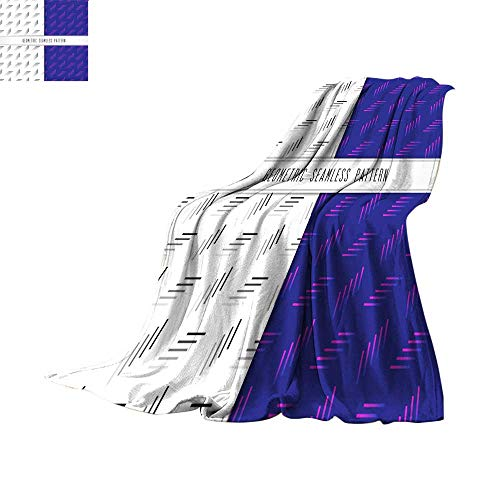 RenteriaDecor Soft Blanket Microfiber Digital Printing WarmVector Geometric  Seamless Pattern Modern Design for Background Wallpaper or 049407d36720