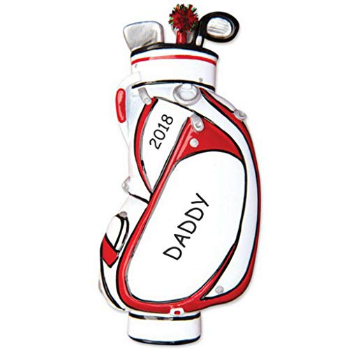DIBSIES Personalization Station Personalized Golf Bag Christmas -