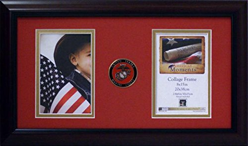 Branch Picture Frame (US Armed Forces American Moments Collage Photo Frame Branch: Marine)