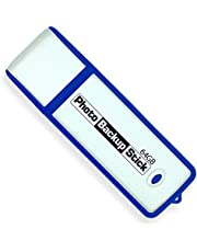 Photo Backup Stick for Computers - Picture and Video Back Up USB 3.0 Tool (64GB)