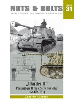 "Nuts & Bolts Vol.31: ドイツ 対戦車自走砲 ""Marder II"" (Sd.Kfz. 131) - Panzerj?ger II f?r 7,5 cm Pak 40/2"