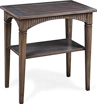 Amazon Com Alden Parkes End Table Elliott Curved Apron New 1