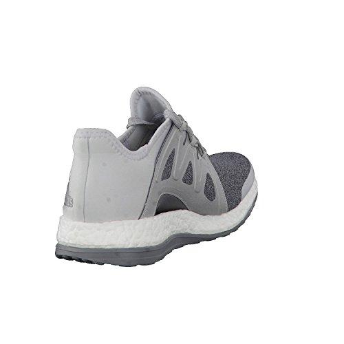 adidas Pureboost Xpose, Chaussures de Course Femme, Gris (Grigio Gritra/Plamet/Grimed), 44 EU