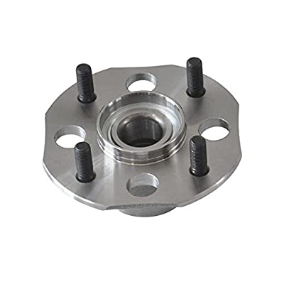 DRIVESTAR 512176 Rear Drum Wheel Hub & Bearing fits for Honda Accord 1998 99 00 01 2002 2.3L(4 Lugs w/o ABS)(Pair): Automotive