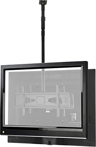 displays2go duocel3770 double sided height adjustable ceiling tv mount for 37 inch to 70 inch. Black Bedroom Furniture Sets. Home Design Ideas