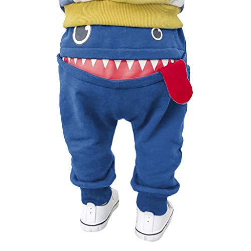 WOCACHI Baby Children Kids Boys Girls Cartoon Shark Tongue Harem Pants Trousers Pants 0-3M 0-6M 3-6 Mos 6-9M 9-12M 6-12M 12-18M 18-24M 0-3T 0-24 Months 2 Years and Up 2T 3T Blue (Beaded Georgette Skirt Set)