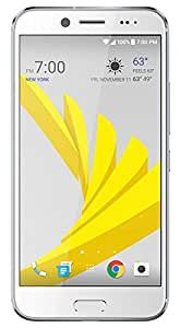 "HTC Bolt 32GB Sprint GSM Unlocked 4G LTE 5.5"" Octa-Core Durable Android Smartphone w/ 16MP Camera - Silver (Certified Refurbished)"