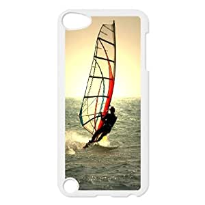 High Quality Specially Designed Skin cover Case Windsurfing iPod Touch 5 Case White