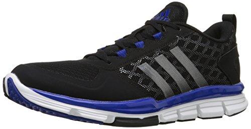 Adidas Originaler Mænds Freak X Kulstof Midten Crosstrainer Sort / Carbon Metallic / Kollegialt Royal k1MnYi