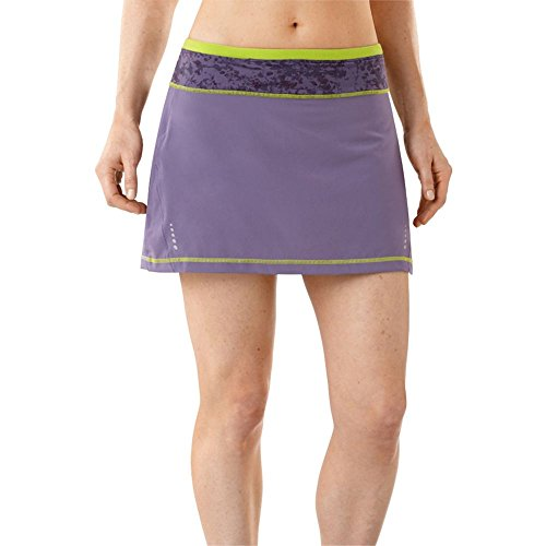 (Smartwool Women's PhD Run Skort, Desert Purple, Medium)