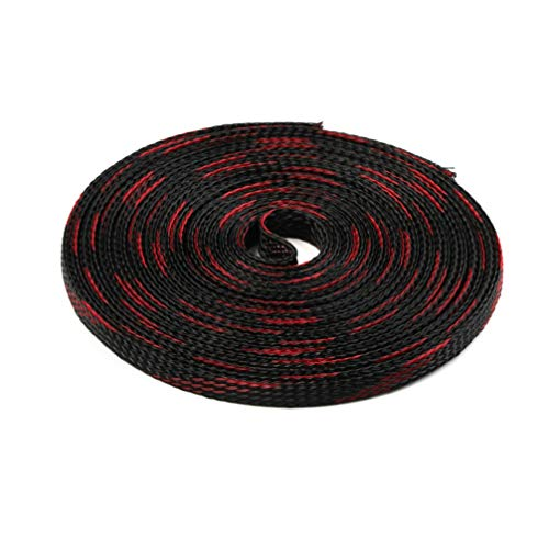 5M 6mm 5Colors Tight PET Cable Sleeves High Density Wire Gland Protection Braided Cables Sleeve Insulation Expandable Sleeving by MEIZOKEN (Image #5)