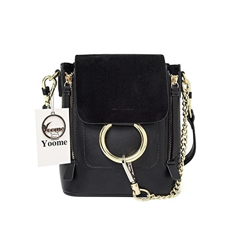 Yoome Casual Women s Retro Circular Ring Chain Bag Fashion Dull Polish  Makeup Pouch For Girls 7b7dcdebd78ee