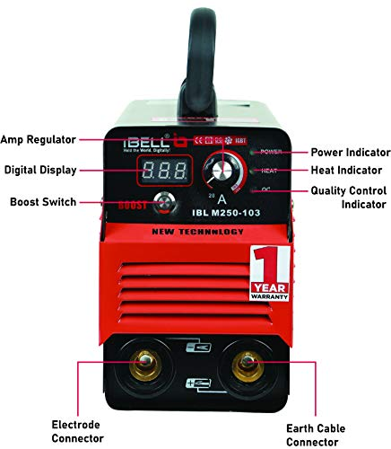 iBELL Inverter ARC Welding Machine (IGBT) 250A with Hot Start,Anti-Stick,Arc Force,Power Boost Functions- 1 Year Warranty 4