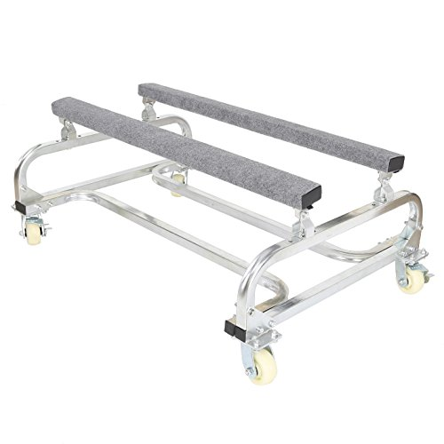 ECOTRIC Watercraft PWC Dolly Boat Jet Ski Stand Storage Trailer Watercraft Cart 1000lb Capacity Watercraft Dolly PWC Dock Slipway Cart