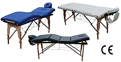 Lettino Zona 4 Per Massaggi Portatile Fisioterapia Pieghevole