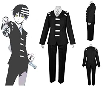 SOUL EATER death the kid cosplay costume  sc 1 st  Amazon UK & SOUL EATER death the kid cosplay costume: Amazon.co.uk: Toys u0026 Games